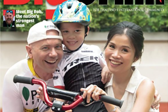 Peter and Jeng Wainman, our founders, on the June cover of BigChilli
