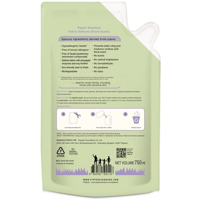 NaturalFabricSoftenerFloralScent750ml-back