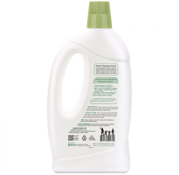 NaturalFloorCleanerLavenderScent800ml-back